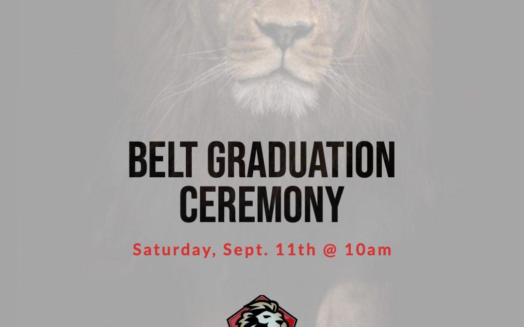 Belt Graduation – Juniors