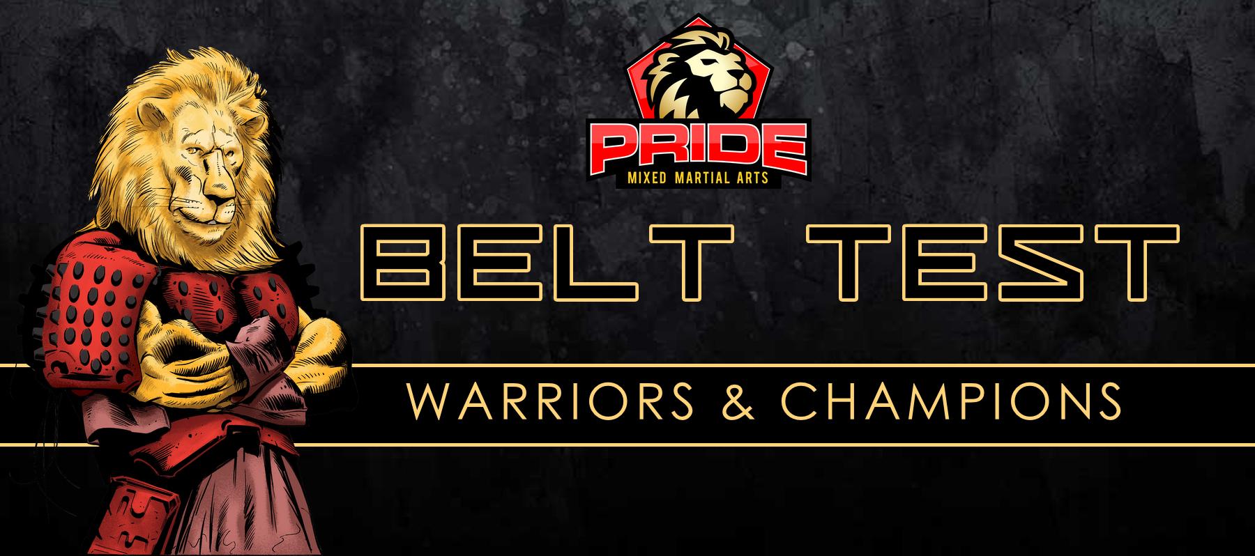 Youth Belt Test